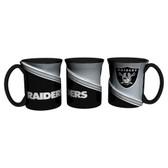Oakland Raiders Coffee Mug 18oz Twist Style