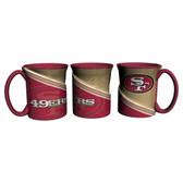 San Francisco 49ers Coffee Mug 18oz Twist Style