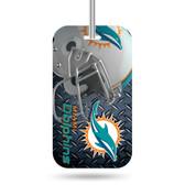 Miami Dolphins Luggage Tag
