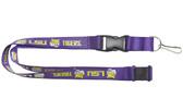 LSU Tigers Lanyard - Purple