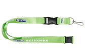 Seattle Seahawks Lanyard - Lime Green