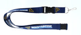 West Virginia Mountaineers Lanyard - Blue