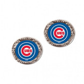 Chicago Cubs Earrings Post Style
