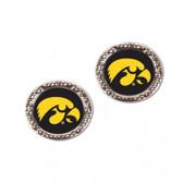 Iowa Hawkeyes Earrings Post Style