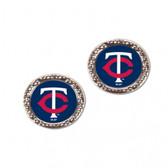 Minnesota Twins Earrings Post Style