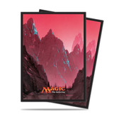Magic Deck Protector - Mana #5 Mountain (Red) 80 per pack