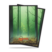 Magic Deck Protector - Mana #5 Forest (Green) 80 per pack