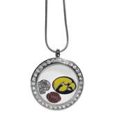 Iowa Hawkeyes Necklace Locket