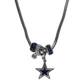Dallas Cowboys Necklace - Euro Bead
