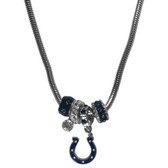 Indianapolis Colts Necklace - Euro Bead