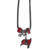 Tampa Bay Buccaneers Necklace - Euro Bead