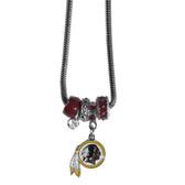Washington Redskins Necklace - Euro Bead