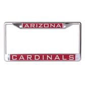 Arizona Cardinals License Plate Frame - Inlaid