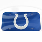 Indianapolis Colts License Plate - Crystal Mirror - Logo
