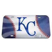 Kansas City Royals  License Plate - Crystal Mirror - Baseball