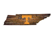 Tennessee Volunteers Wood Sign - State Wall Art