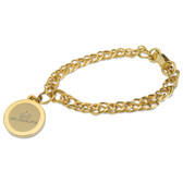 UNC Charlotte 49ers Gold Charm Bracelet