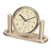 Wyoming Cowboys Arcadia Desk Clock