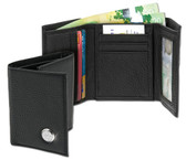 Wyoming Cowboys Men's Leather Wallet