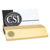 Minnesota Golden Gophers Gold Business Card Holder