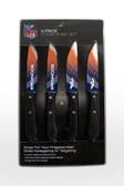 Denver Broncos Knife Set Steak 4 Pack