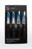 Detroit Lions Knife Set Steak 4 Pack