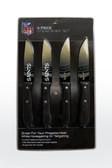New Orleans Saints Knife Set Steak 4 Pack