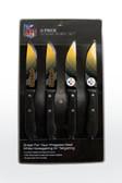 Pittsburgh Steelers Knife Set Steak 4 Pack
