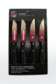 San Francisco 49ers Knife Set Steak 4 Pack