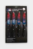 Chicago Cubs Knife Set Steak 4 Pack