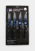New York Yankees Knife Set Steak 4 Pack