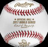 2017 World Series Rawlings Official Baseball
