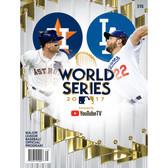 2017 World Series Official Program - Dodgers vs Astros