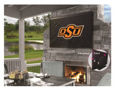 "Oklahoma State Cowboys TV Cover (TV sizes 50""-56"")"