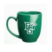 Bowling Green State Falcons Deep Etched 15 oz. Green Bistro Mug