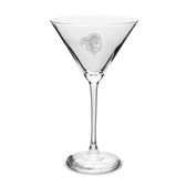 Seton Hall Deep Etched 10 oz. Martini Glass