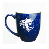 Seton Hall Deep Etched 15 oz. Cobalt Bistro Mug