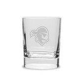 Seton Hall Deep Etched 11.75 oz. Double Old Fashion Glass