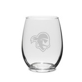Seton Hall Deep Etched 15 oz. Stemless Wine Glass