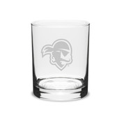 Seton Hall Deep Etched 14 oz. Double Old Fashion Glass