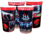 144th Kentucky Derby 22 oz. Plastic Souvenir Cups - 4/pkg.