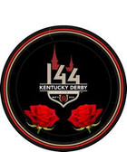 "144th Kentucky Derby 7"" Paper Plates - 8/pkg."