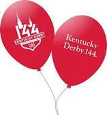 "144th Kentucky Derby 11"" Balloons - 10/pkg."