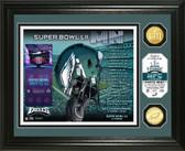 Philadelphia Eagles Super Bowl 52 Team Pride Bronze Coin Photo Mint