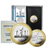 Super Bowl 52 Official 2-Tone Flip Coin