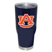 Auburn Tigers 32oz Decal Powder Coated Stainless Steel Tumbler