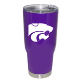 Kansas State Wildcats 32oz Decal Powder Coated Stainless Steel Tumbler