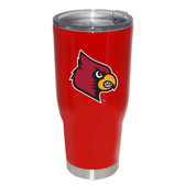 Louisville Cardinals 32oz Decal Powder Coated Stainless Steel Tumbler