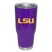 LSU Tigers 32oz Decal Powder Coated Stainless Steel Tumbler