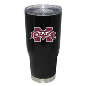 Mississippi State Bulldogs 32oz Decal Powder Coated Stainless Steel Tumbler